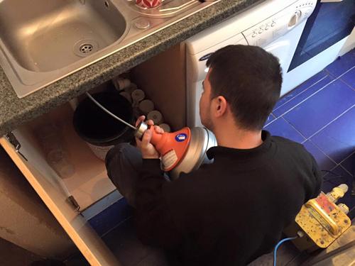 Sink Drain Unblocking Kent With Electro Mechanical Machine